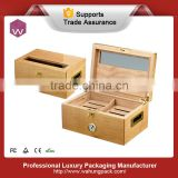Personalized wooden humidor cigar box (WH-1030-ML)
