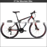 27.5er aluminum alloy mountain bike with 27 speeds groupset