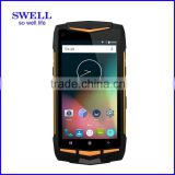 V1 rugged latest 5g 4G walkie talkie android 5.1 GPS+Glonass dual wifi pos terminal with RS232 printer java supported telephon