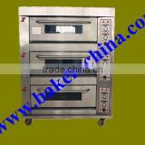 Baking Pizza Oven Single/Double/Three/Four Decks Gas Pizza DBaking Pizza Oven Single/Double/Three/Four Decks Gas Pizza Deck Oven