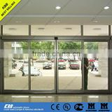 Hot sale sliding door, security glass, aluminium frame, CE UL ISO9001 ISO14001 certificate