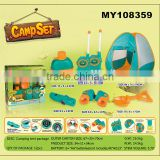 Wholesale kids set camping tent toy camping kitchen tent camping tool set toy