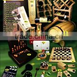Different Sizes Variety Kinds Pub Game Accessories Wooden Bar Set