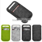 Mobile Phone Bags Case Cover Wool Felt Wallet phone bag For iPhone 6 Plus 5.5 inch For Samsung Note 3 4 case