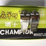 Stainless steel whistle metal whistle Type emergency whistle cheap whistles