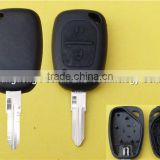 Auto Remote Replacement Key Case Fob For 2 Button Renault Clio Logan Sandero Car Key Shell Cover