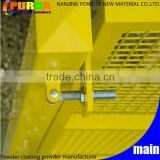 Ral 1018 Zinc Yellow Powder Coated Metal Paint