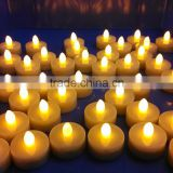 Multicolor flickering battery operated cute decorative tea lights Led candles