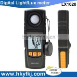 digital USB lux light meter automatic light detector photoelectric sensor with Illuminance data storage