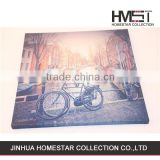 Latest design hot sale bike landscape oil painting for sale