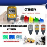 Digital auto switch car paint coating thickness measuring gauge meter tester instruments for all metal substrate                                                                         Quality Choice