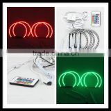 RGB 42SMD LED HALO rings light A+A angel eyes kits for bmw e39 e36 e38 42SMD LED angel eyes