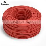 Factory Sale Popular Modern Colourful Textile Power Cord ,Light Red Fabric Power Cord Round