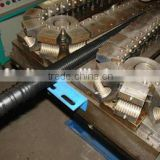 hot new products for 2015!PE corrugated plastic drainage channel pipe extrusion line fosita brand
