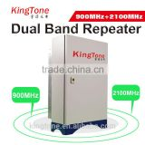 GSM WCDMA dual band repeater celular rural repetidor 900 2100MHz mobile phone signal repeater/amplifier GSM UMTS repeater