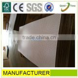 maple melamined high quality perforated calcium silicate board,perforated mdf wall board,