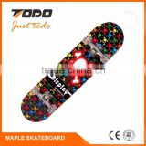 Wholesale 7ply Canadian maple skateboard deck blank