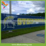 Digital pvc flex banner printing fence wind banner                                                                         Quality Choice