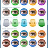 30 colors in stock korean cosmetic fresh tone color contact lenses
