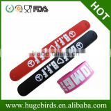 2014 world cup silicone slap bracelet