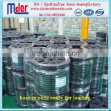 "Brand names hydraulic rubber hose pipe / flexible rubber hose 1/4"" 5/16"" 3/8"" 1/2"" 5/8"" 3/4"""