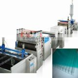 PP/PC Sheet Lattice Board Extruder Machinery/2100mm Hollow Grid Sheet Production Line /Sheet Making Machine