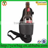 Soda beverage beer hip holster single bottle with leg belt