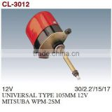 Windshield Wiper Motor/Windscreen Wiper Motor/Auto Wiper Motor For UNIVERSAL TYPE 105MM 12V MITSUBA WPM-2SM