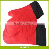 Silicone Oven Mitts and Pot Holders Professional Silicone Oven Mitts Extra Long Heat Resistant with Cotton Quilted Liner