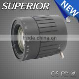 Chinese infrared night vision lenses : cmos camera lens 35mm C mount manual iris cctv lens in Fuzhou for machine vision