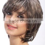 Mixed grey color wigs, cosplay wigs for party show