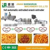 full automatic extruded snack extruder