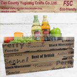 Wooden grape storage crates,banana harvest crates,wine bottle crates