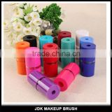Wholesale chubby eyebrow nice blade pencil sharpener multi-colors chubby cosmetic pencil sharpner
