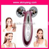 portable Ko4D Y-Shape solar micro Platinum Roller Face & Body Slimming Tightening Massager Smart Health Face Massager care tool