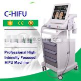 Skin Tightening Portable HIFU Machine /HIFU Wrinkle Eye Lines Removal Remover 5 Heads HIFU Machine High Frequency Machine For Face
