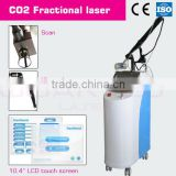 RF Fractional co2 metal tube acne scar treatment device