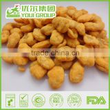 Halal BRC ISO certificate Spicy Broad Bean Chips hot price NON-GMO,Rich in dietary fibres, good for Stomach