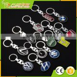 Wholesale promo Benz metal keychains/Car brand VOLVO Keychains for customers Promotional gifts crafts of the metal key chains