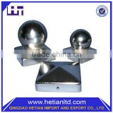 China Manufacturer New Design Butterfly Solar Fence Light Post Cap