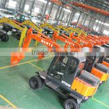 Kubota hydraulic pump mini wheel excavator