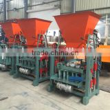 small fly ash manual cement brick making machine