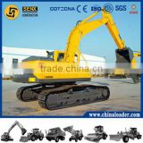 LG6250E digger factory Hydraulic digger with K3V112DT pump