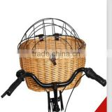 "Cheapest Bicycle Basket Dog Bike Basket Wicker bike dog Basket 17.32""x18.90""x12.99"""
