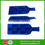 Bottle Shape Silicone Ice Cube Tray / Custom Personalized Food-Grade Silicone Durable Ice Cube Tray