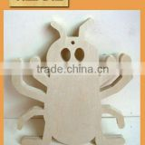 OEM wooden spider araneid colorful bulk small toys for sell