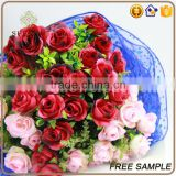 wholesale rose bouquet artificial flowers wedding