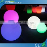 Plastic light up hanging ball lights with RGB 16 color changing GKB-030RT