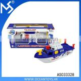 Plastic Racer Speed Boat Water Toy Electric Swimming Radar Ship Model
