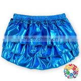 2015 Baby Girls Boutique Bloomers Baby Sequin Ruffle Royalblue Harem Pants Baby Bloomers Wholesale In China Yiwu 0-2T